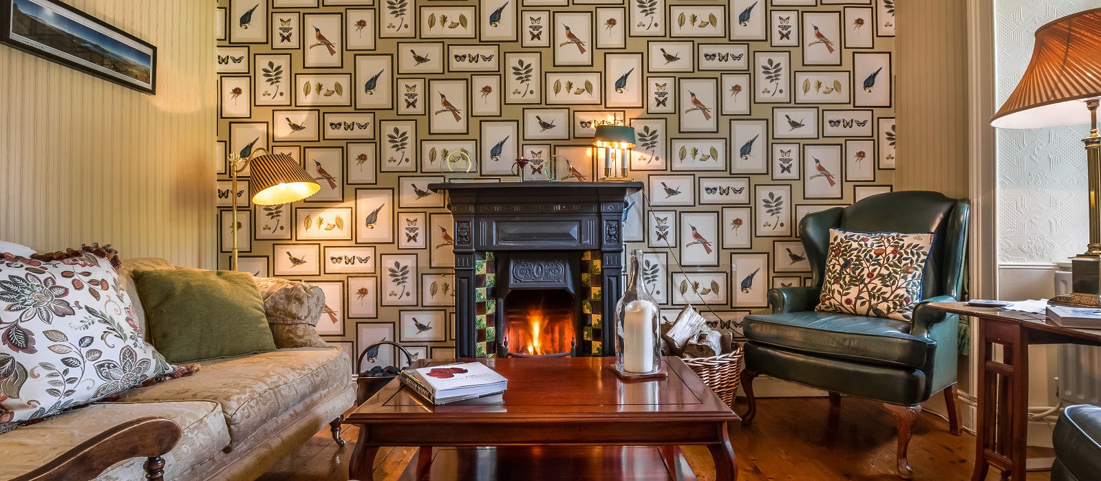 Romantic Carrig Country House Hotel on Ring of Kerry, Ireland on