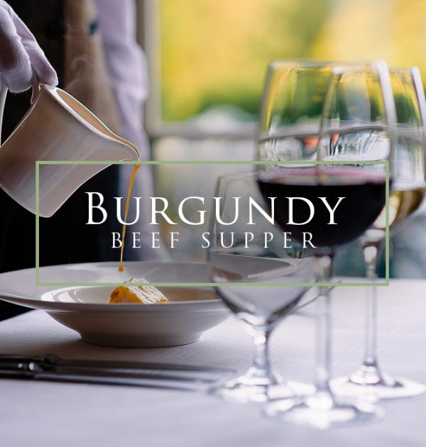 Beef and Burgundy Supper