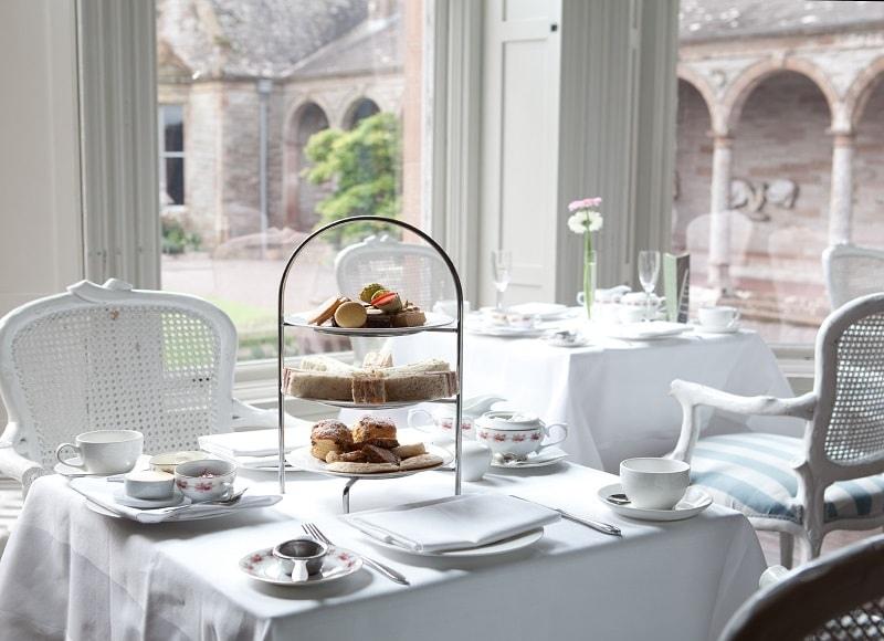 afternoon tea in castle leslie