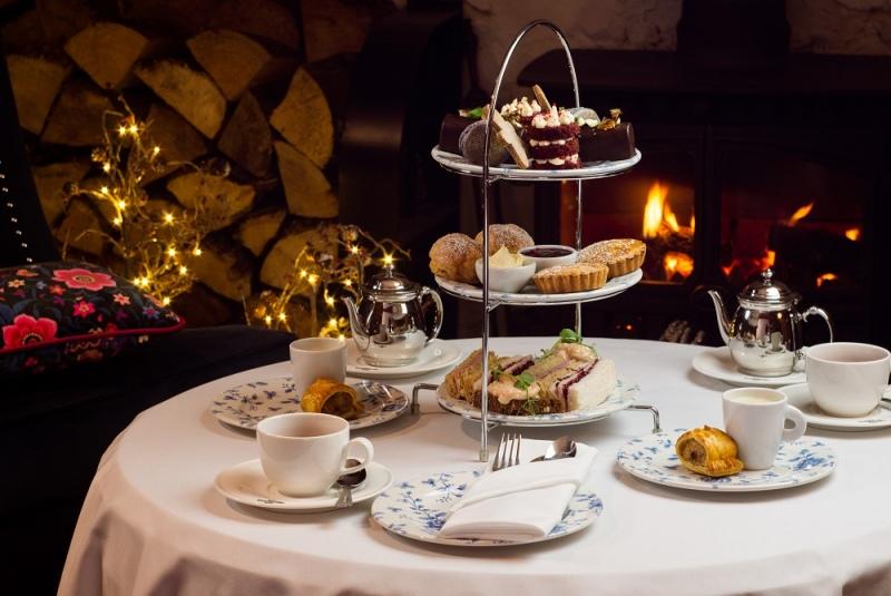 bushmills inn festive afternoon tea