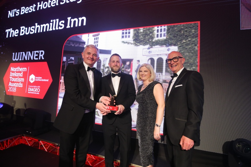 bushmills inn is northern ireland s best hotel stay northern ireland tourism awards may 2018
