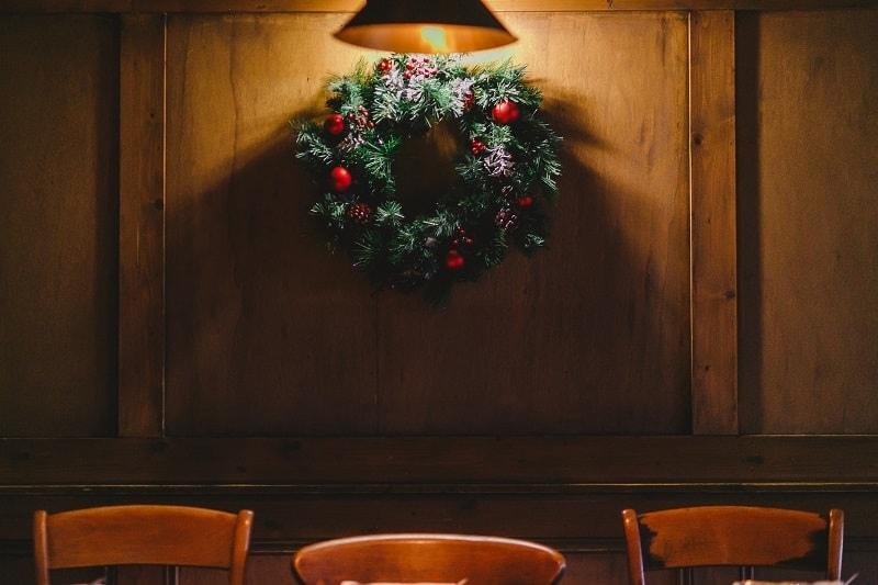 bushmills inn wreath