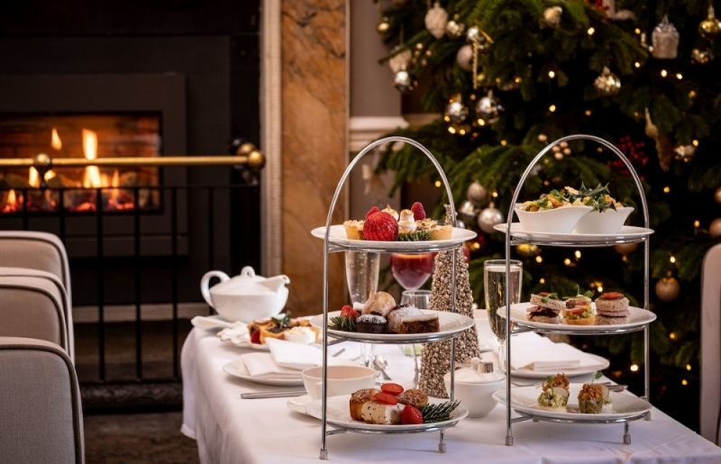 butler house festive afternoon tea