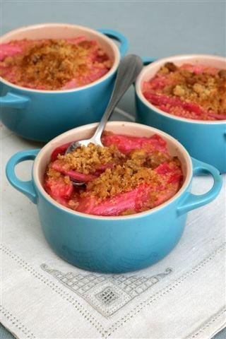 derry clarke rhubarb crumble 1