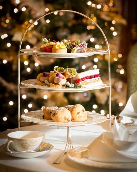 glenlo abbey festive afternoon tea