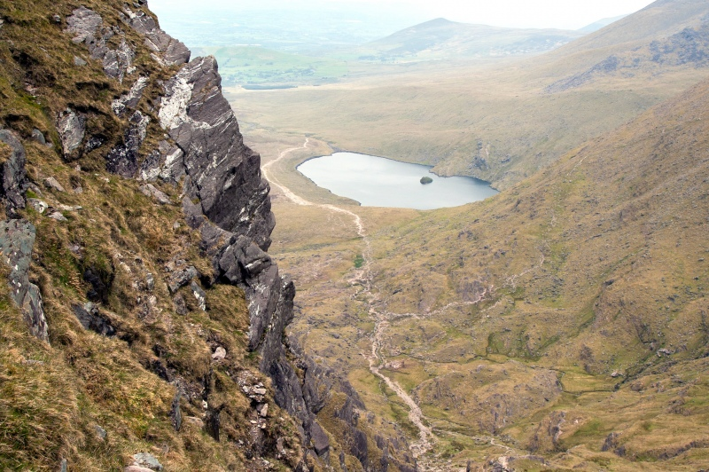 reeks district lakes from afar