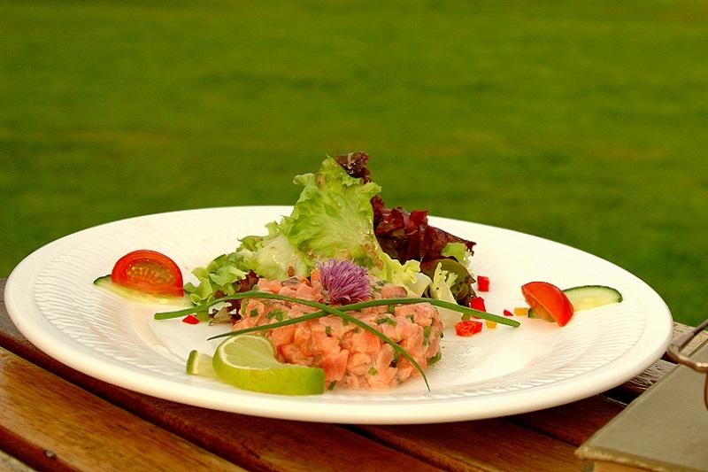 rosleague salmon tartare