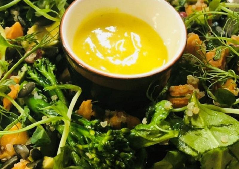 vegan spring salad bushmills inn
