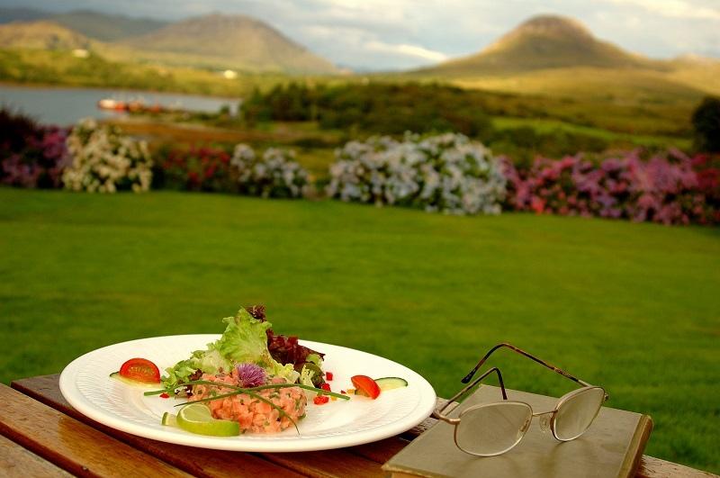 wild connemara salmon tartare rosleague manor
