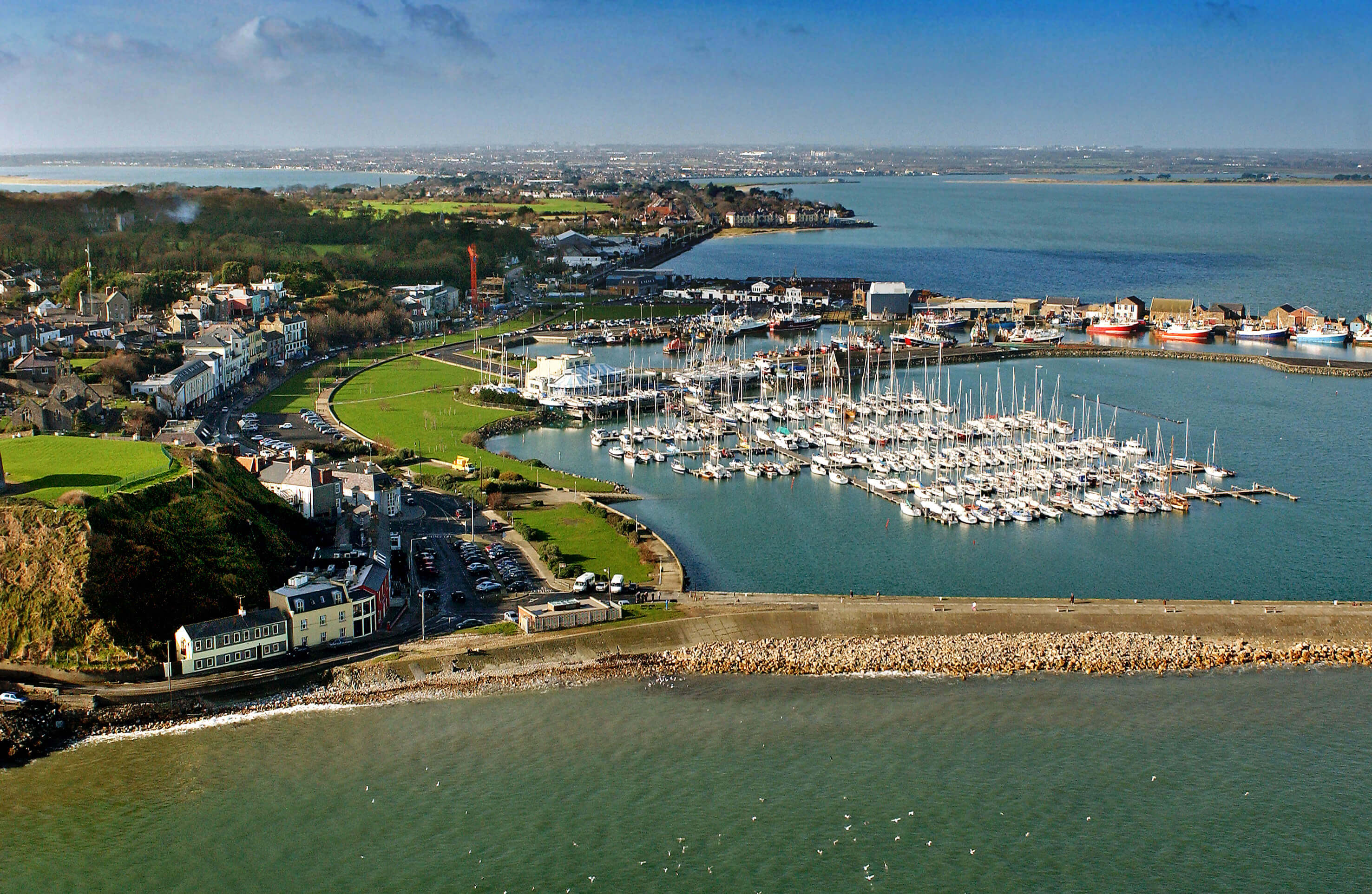 Howth Aerial View