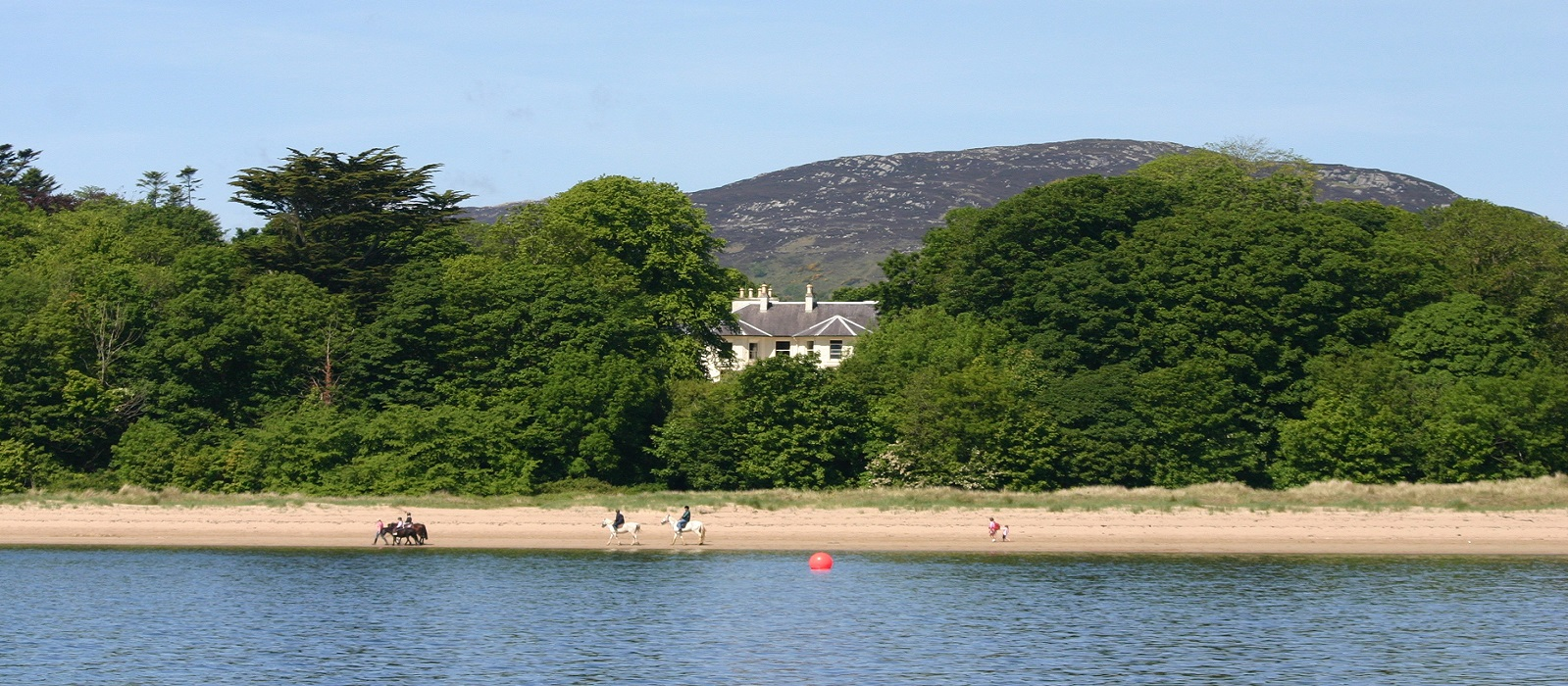 Rathmullan House Beach